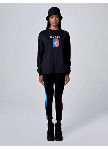 Huxel Tişört Siyah
